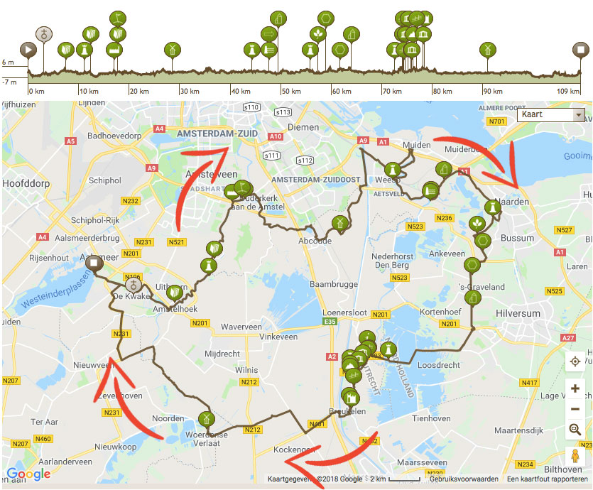 Tour de Poel 110 kilometer